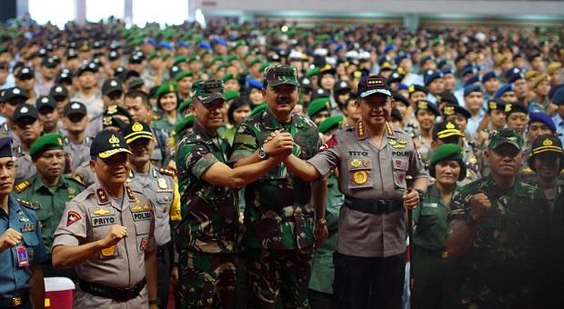 Soliditas TNI dan Polri Bukan Hanya Seremonial Belaka