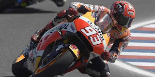 Marquez Raih Pole di MotoGP Argentina