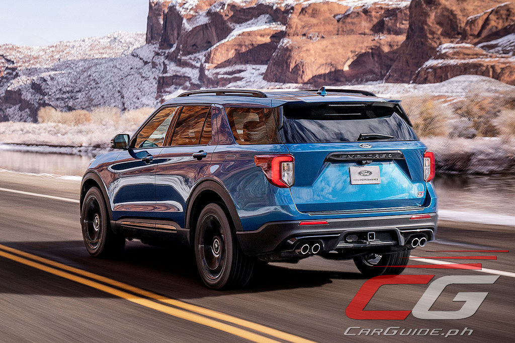 The 2020 Ford Explorer St Is Faster Than A Range Rover