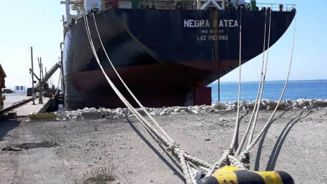 Buque carguero Pilín León está retenido en Portugal debido a las deudas que mantiene PDVSA