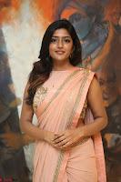 Eesha Rebba in beautiful peach saree at Darshakudu pre release ~  Exclusive Celebrities Galleries 007.JPG