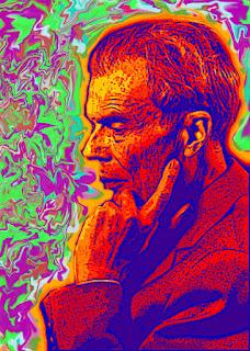 Aldous Huxley (artistic rendition)