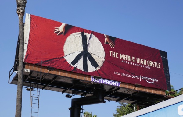 Man in the High Castle season 3 billboard