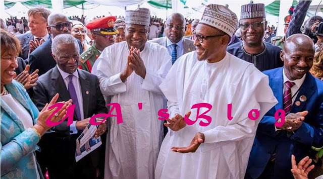 President Muhammadu Buhari today, formally commissioned the new Economic and Financial Crimes Commission (EFCC) Head Office in Abuja. 
