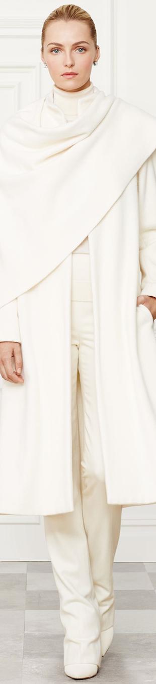Ralph Lauren Marielle Coat Fall 2014 Collection