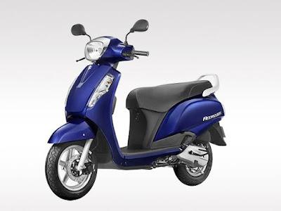 Suzuki Access 125 Left side Image