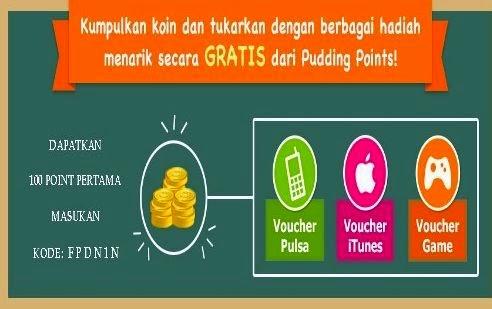 Cara MendapatKan Pulsa Dan G-Cash Menggunakan Pudding Point