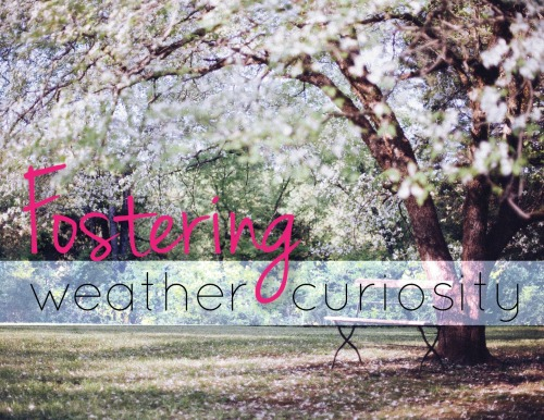 Fostering Weather Curiosity in Homeschool