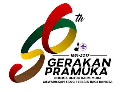 Logo Dan Tema Hari Pramuka Ke-56 Tahun 2017