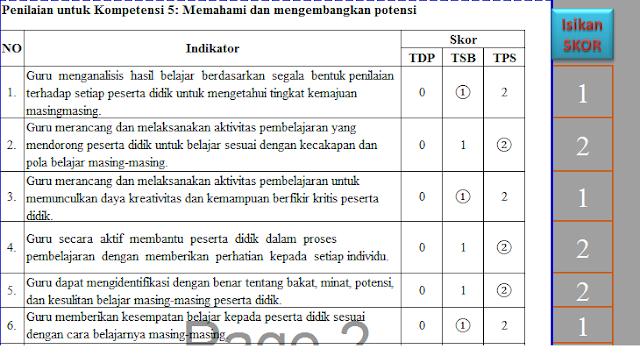 Format PKG dan PKKS Dalam 1 Aplikasi Excel
