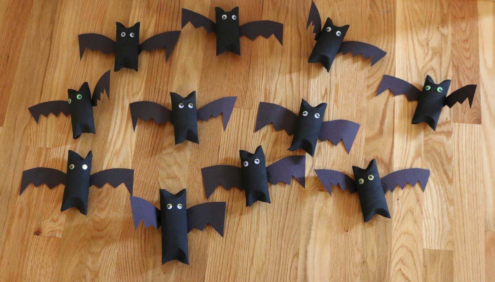 Chemknits Toilet Paper Roll Bats