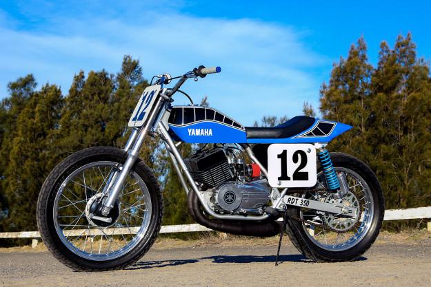 Yamaha RD350 độ Flat Track của tay đua dirt track từ Úc