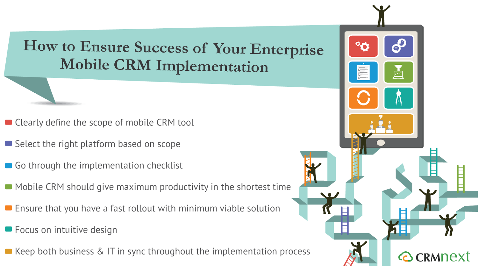 How to Ensure Success of Your Enterprise Mobile CRM Implementation