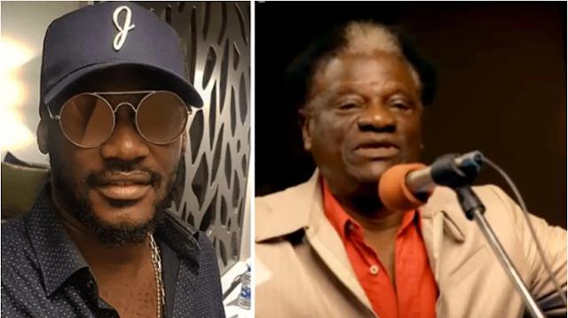 Tuface Idibia has reacted to the death of Veteran musician, Victor Olaiya