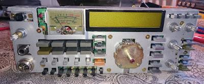 ICOM IC-275H naamataulu purettuna