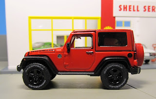 GreenLight Country  Jeep Wrangler red