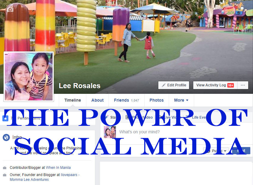 The Power of Social Media - Momma Lee Adventures