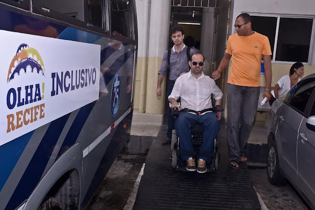 Olha!Recife Inclusivo - mais turismo e lazer para pessoas com deficiência