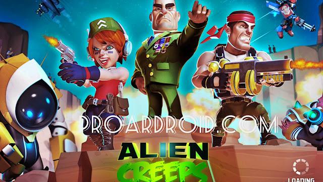 لعبة Alien Creeps TD v2.28.0 مهكرة كاملة للاندرويد (اخر اصدار) logo