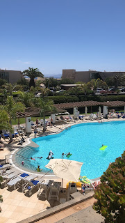 Swimming pool at Princesa Yaiza hotel, Lanzarote
