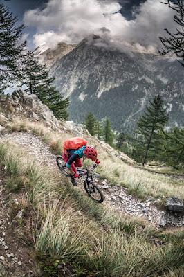 Enduro Tete sud des Bresses Trail Singletrail