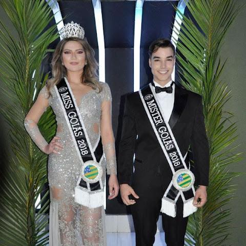 Concurso de beleza elege Miss e Mister Goiás 2018