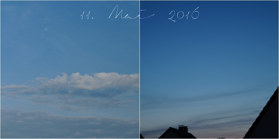 Blog + Fotografie by it's me! | fim.works | Himmel am 11. Mai 2016