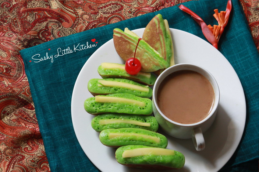 Pukis Pandan Keju Sashy Little Kitchen Home Cooking And Food