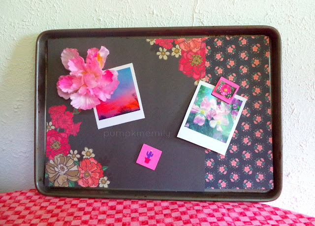 Magnetic Cookie Sheet Memo Board