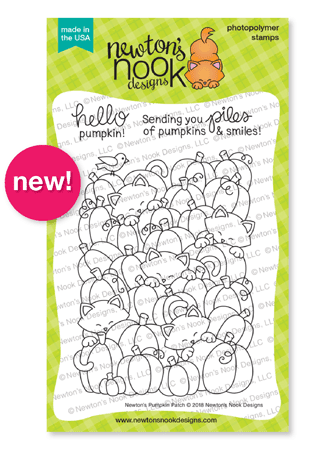 Newton's Pumpkin Patch Stamp Set by Newton's Nook Designs #newtonsnook