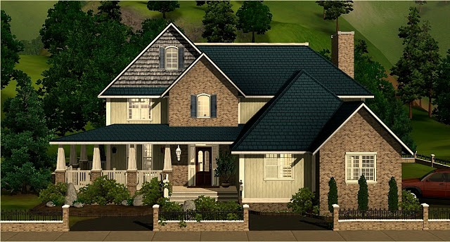 Nice family houses from the exchange? — The Sims Forums