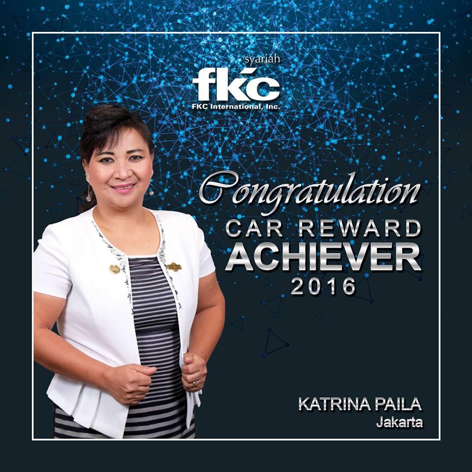 Bisnis Fkc Syariah - Reward Katrina Paila