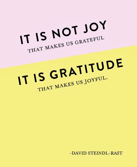 Gratitude Quote, Quote on Gratitude