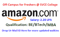 Amazon-off-campus-svce-college