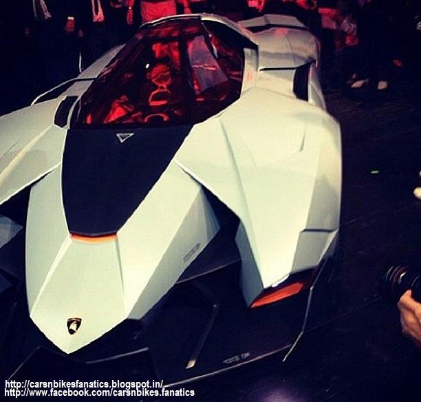 Lamborghini Egoista Concept Car Black: Car & Bike Fanatics: Lamborghini Egoista Concept