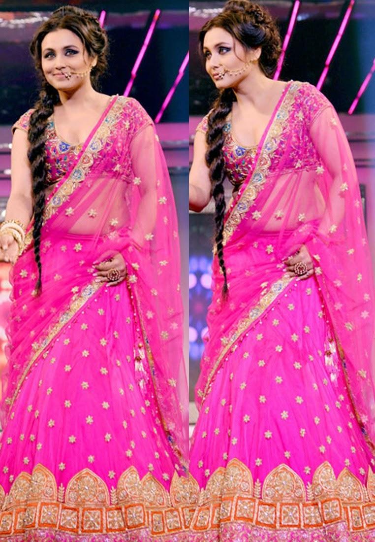Bollywood Actress Saree Collections: Rani Mukherjee in ...