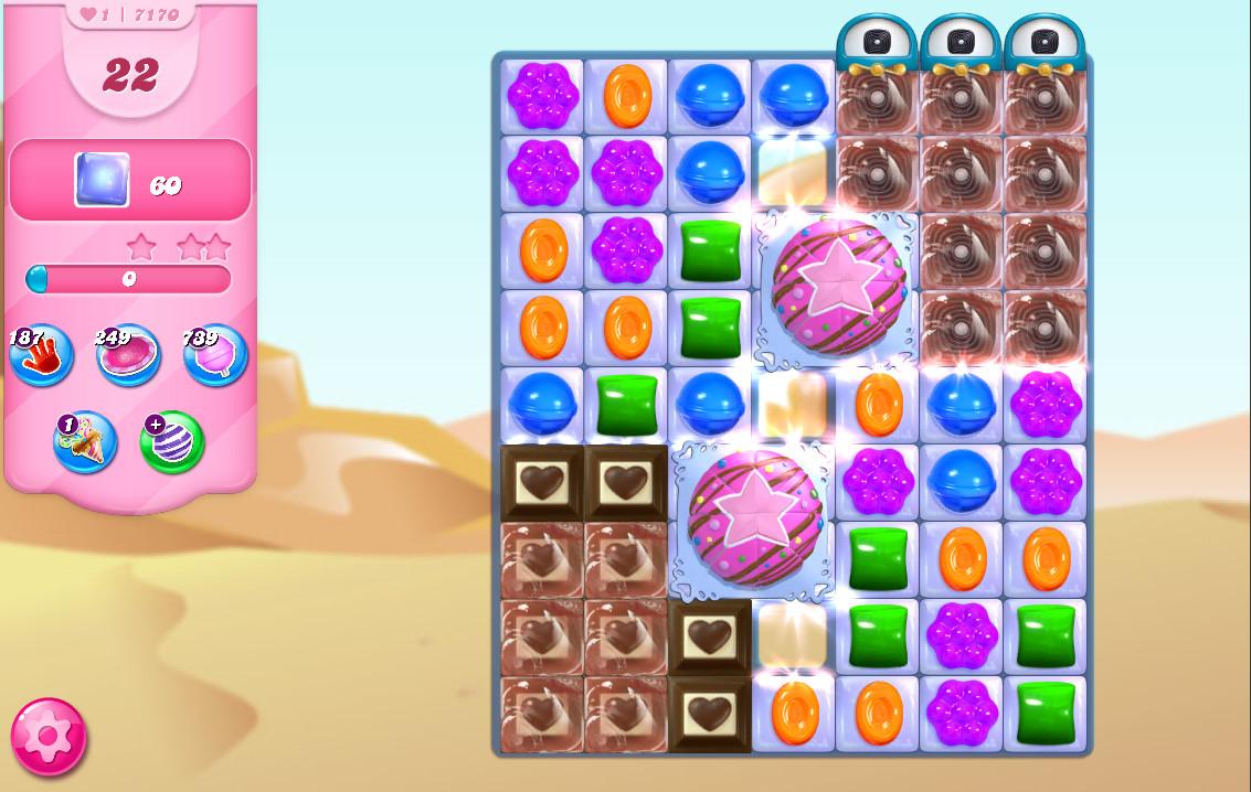 Candy Crush Saga level 7170