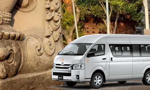 Rental Hiace sekitar Aston Denpasar Hotel and Convention Center Bali