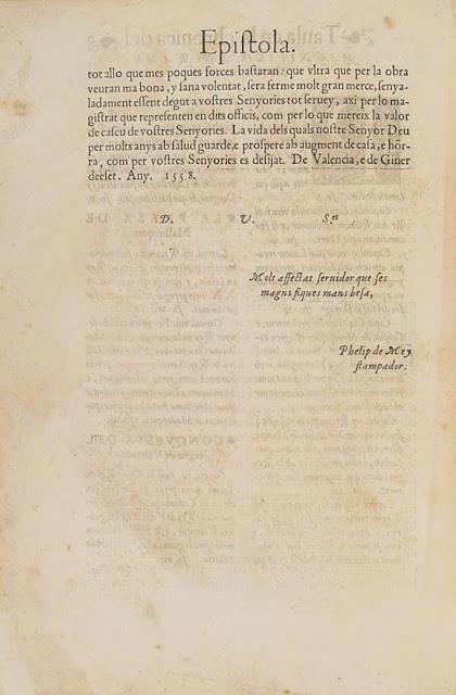 Crónica Ramón Muntaner, epistola