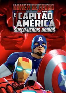 Homem de Ferro e Capitão América: Super-Heróis Unidos - HDRip Dual Áudio