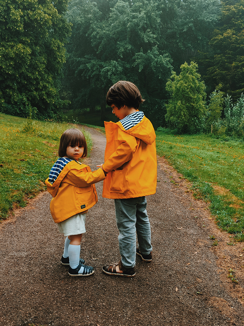 getaway in the woods for families uk