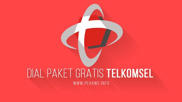 Dial Paket Gratis Telkomsel (1GB, 2GB, 3GB dan 4GB)