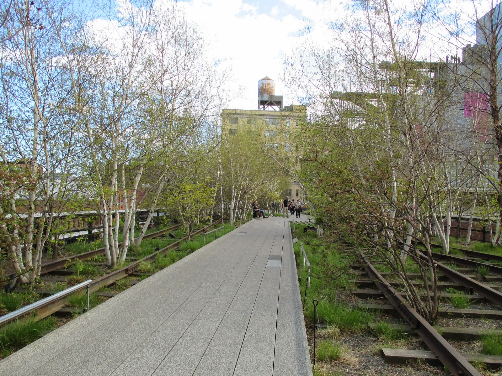 high line spring new york city
