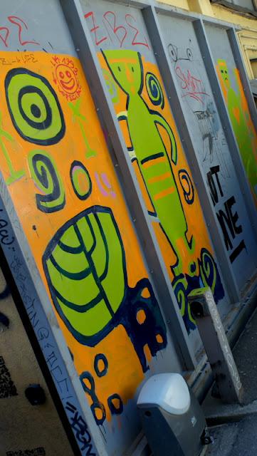 Cancello colorato