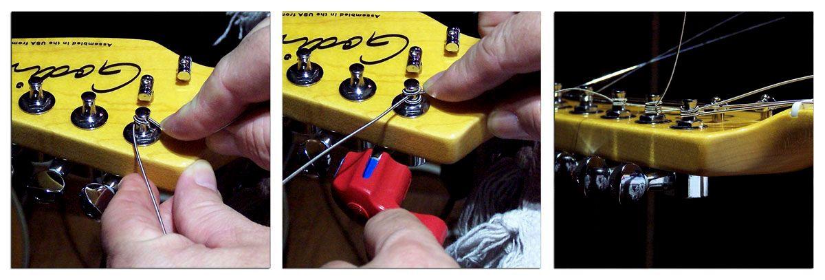 Cómo Cambiar las Cuerdas a la Guitarra Eléctrica o Acústica