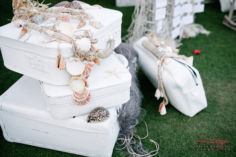 dettagli matrimonio tema marino