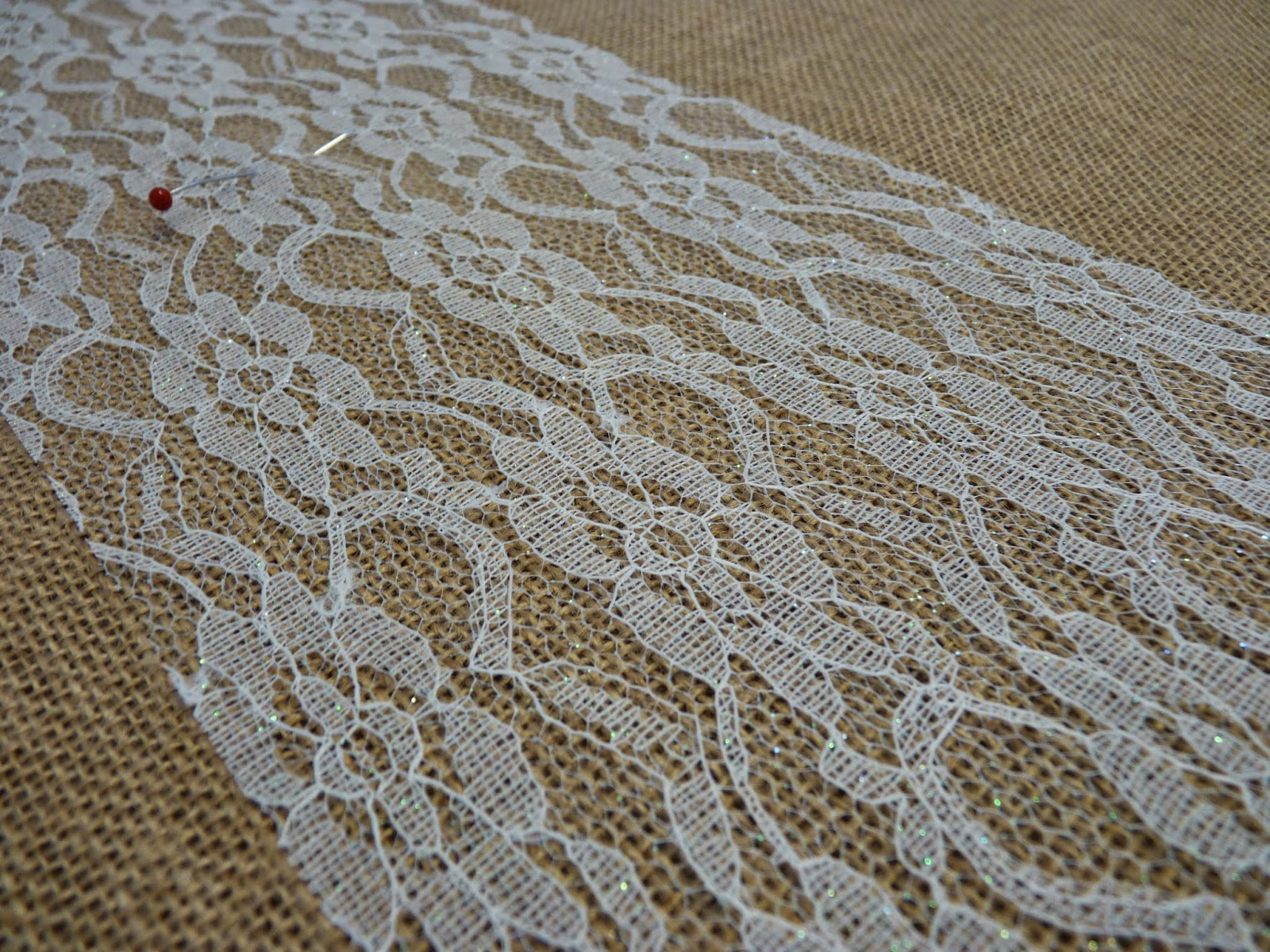 Mary Jos Cloth Design Blog Rustic Chic Burlap and Lace
