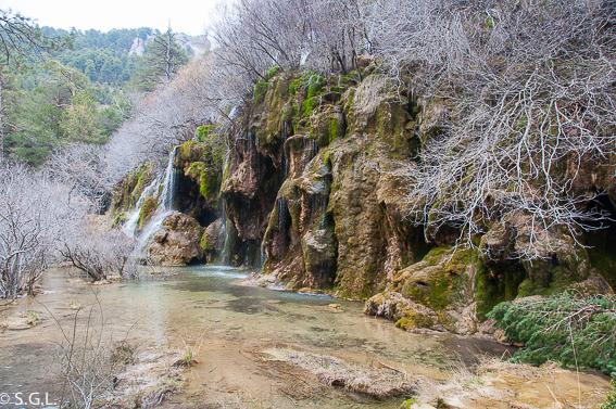 Nacimiento del rio Cuervo. Cuenca