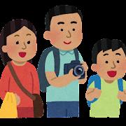 外国人観光客のイラスト(東南アジア人)