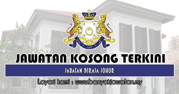 Jawatan Kosong 2019 di Jabatan Diraja Johor